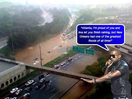 Kanye flood